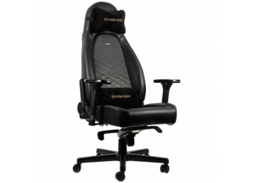 Noblechairs ICON Gaming Chair Black/Gold