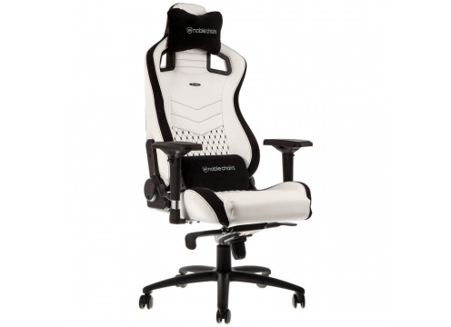 Noblechairs EPIC Gaming Chair White/Black