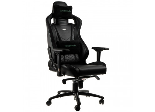Noblechairs EPIC Gaming Chair Black/Green