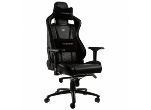 Noblechairs EPIC Gaming Chair Black/Gold