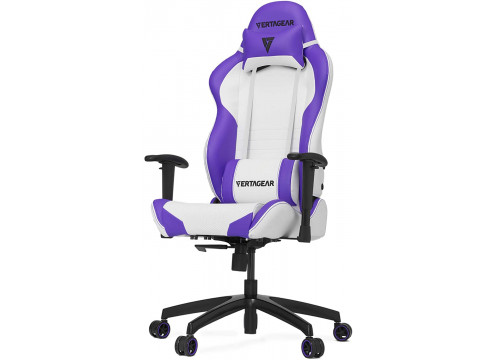 Vertagear Racing Series S-Line SL2000 Gaming Chair White/Purple Edition