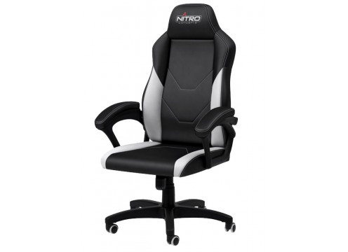 Nitro Concepts C100 Gaming Chair Black/White